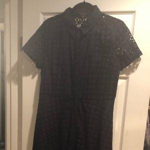 Navy Dress Ann Taylor